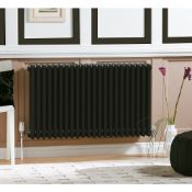 New (S17) 600 x 1042mm TrIPle Volcanic Horizontal Collosseum Traditional Radiator. 4571BTU. RRP...