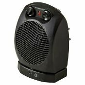 New (S210) 2000W Black Fan Heater. This Portable Electric Fan Heater Is A Great Way To Quickly ...