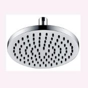 New (S153) Alfred Victoria Modern ABS Shower Head Shp27 - Chrome Finish