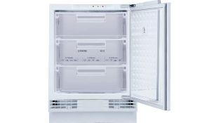 New (S79) iQ500 Built-Under Freezer 82 x 59.8 Cm Gu15Da50Gb. Undercounter Freezer With 3 Handy ...