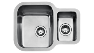 New (S41) Teka Stainless Steel Sink. Material: Stainless Steel 18/10, Aisi 304 Polished Embe...