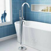 New (W8) Marco F88 Freestanding Bath Shower Mixer Tap. Floorstanding Bath / Shower Mixer Ideal...