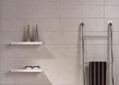 New 5.65m2 Porcelanosa Ixos Blanco Tiles. 200x300mm Per Tile, 1.13m2 Per Pack.