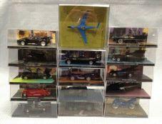 15 X Eaglemoss Dc Comics Batman Vehicles
