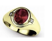 South African Ore 14K Gold Filled Ring