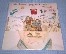 """John Lennon - Walls & Bridges 1974 12"""" Vinyl Lp"""