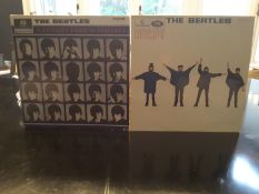 The Beatles Quite Rare Vinyls - 'A Hard Days Night' Mono And 'Help'