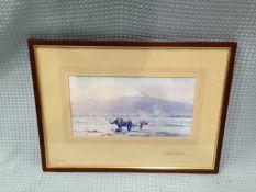 Signed Framed David Shepherd Print Of Rhinos