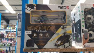 7 X Red5 Gyro Flyer RC Helicopter 7 X Red5 Gyro Flyer RC Helicopter---- Condition:Used Location:DN14
