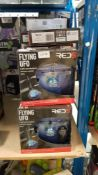 22 X Red5 Flying UFO 22 X Red5 Flying UFO---- Condition:Used Location:DN14 Shipment:Collect &