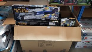 A Large Quantity Of Stryker Paintball Blaster A Large Quantity Of Stryker Paintball Blaster----
