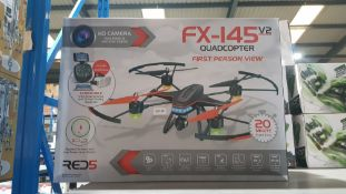 2 X Red5 FX-145 V2 Quadcopter FPV 2 X Red5 FX-145 V2 Quadcopter FPV---- Condition:Used Location:DN14