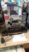 2 Items : 1 X Atari Flashback 9 110 Game Retro Console & 1 X Sega Saturn Smartphone Controller 2