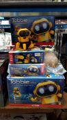 10 X STEM Tobbie The Robot (2 X No Box) 10 X STEM Tobbie The Robot (2 X No Box)---- Condition:Used