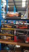 9 RC Car Items : 5 X MZ Lamborghini Aventador Coupe , 2 X Lamborghini Reventon , 1 X Rastar Pagani 9