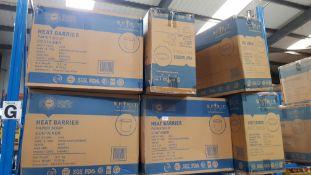 (R4F) Approx. (60 X 25 Pieces) Spirit Pak Heat Barrier Paper Soup Container 26 Oz & (60 X 25 Pieces)