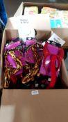 (R4E) Approx. 50 X Mixed Style Halloween Headband & Tail Set (New)