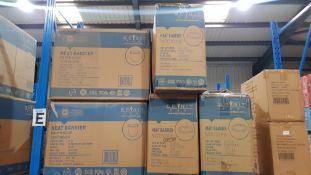 (R4D) Approx. (40 X 25 Pieces) Spirit Pak Heat Barrier Paper Soup Container 26 Oz & (60 X 25 Pieces)