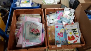 (R4G) Contents Of 2 Boxes Ð A Quantity Of Mixed Style MotherÕs Day Cards (New / Sealed)