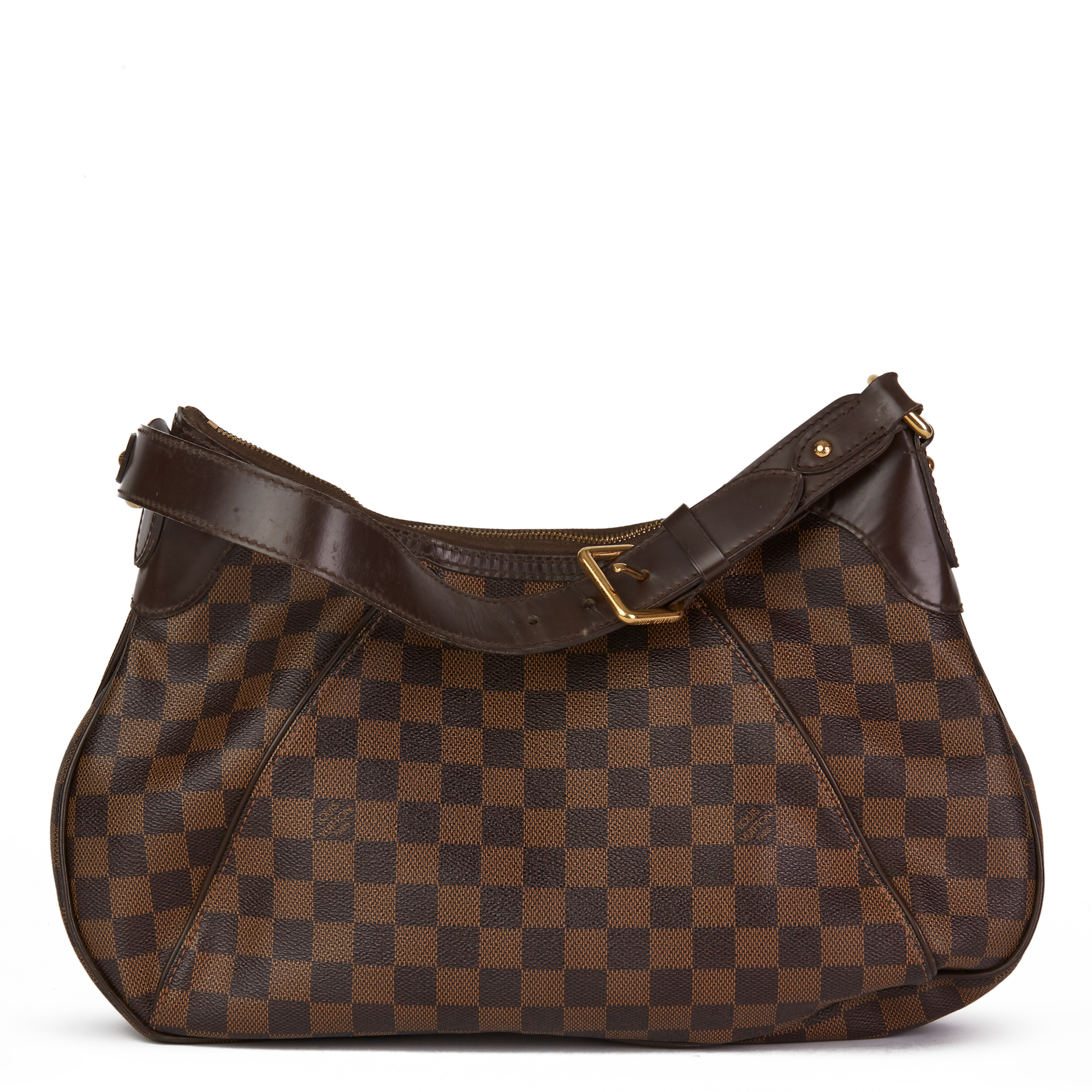 Louis Vuitton Brown Damier Ebene Monogram Coated Canvas Thames PM - Image 8 of 10
