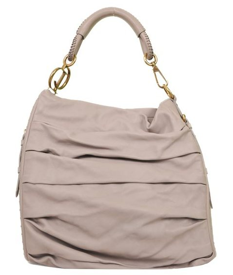 Christian Dior - Pleated Libertine Leather Shoulder Bag
