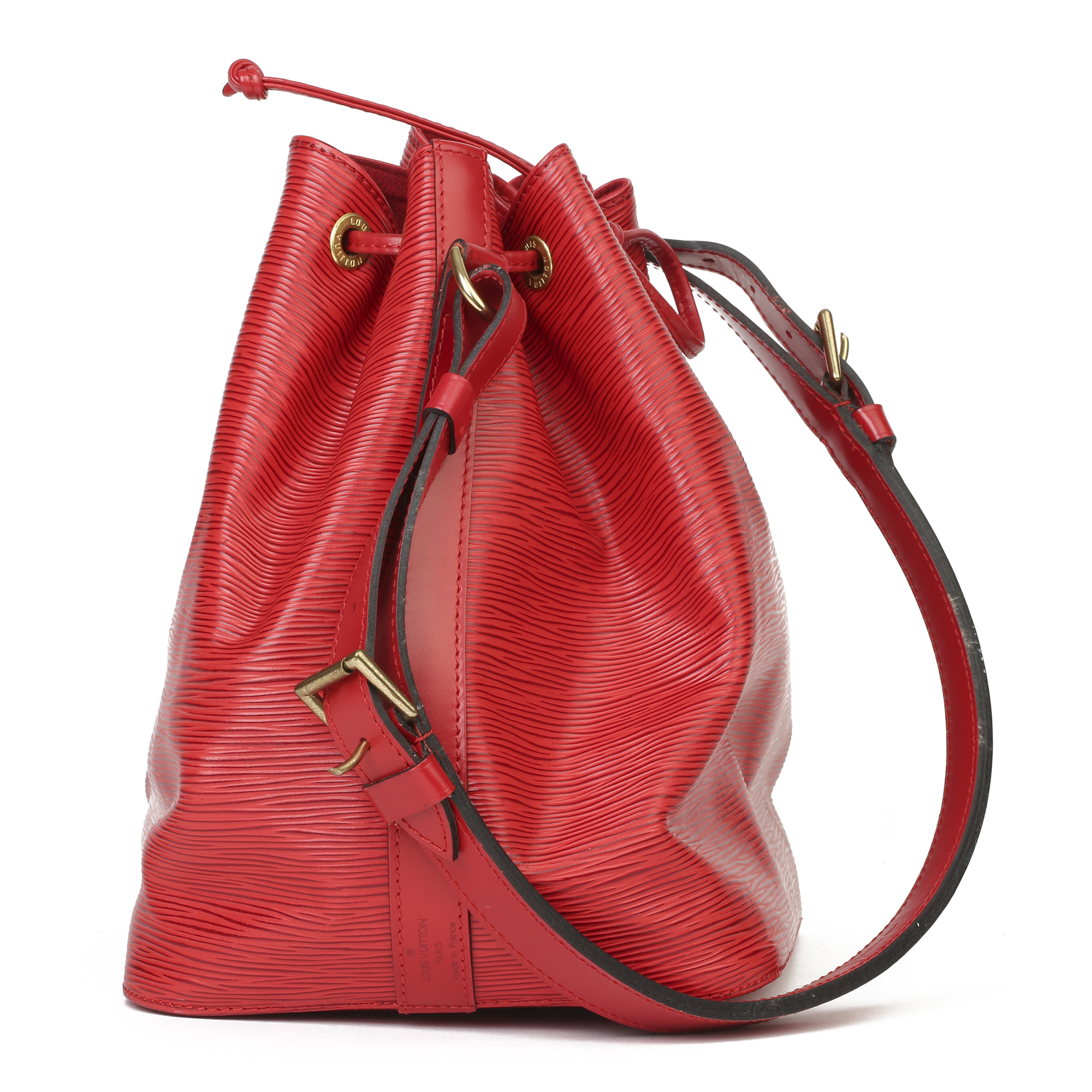 Louis Vuitton Red Epi Leather Vintage Petit NoŽ - Image 11 of 11