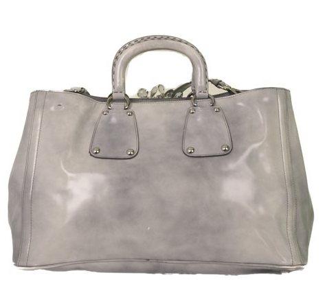 Prada - Crystal Embellished Vitello Shiny Leather Hand Bag - Image 2 of 6