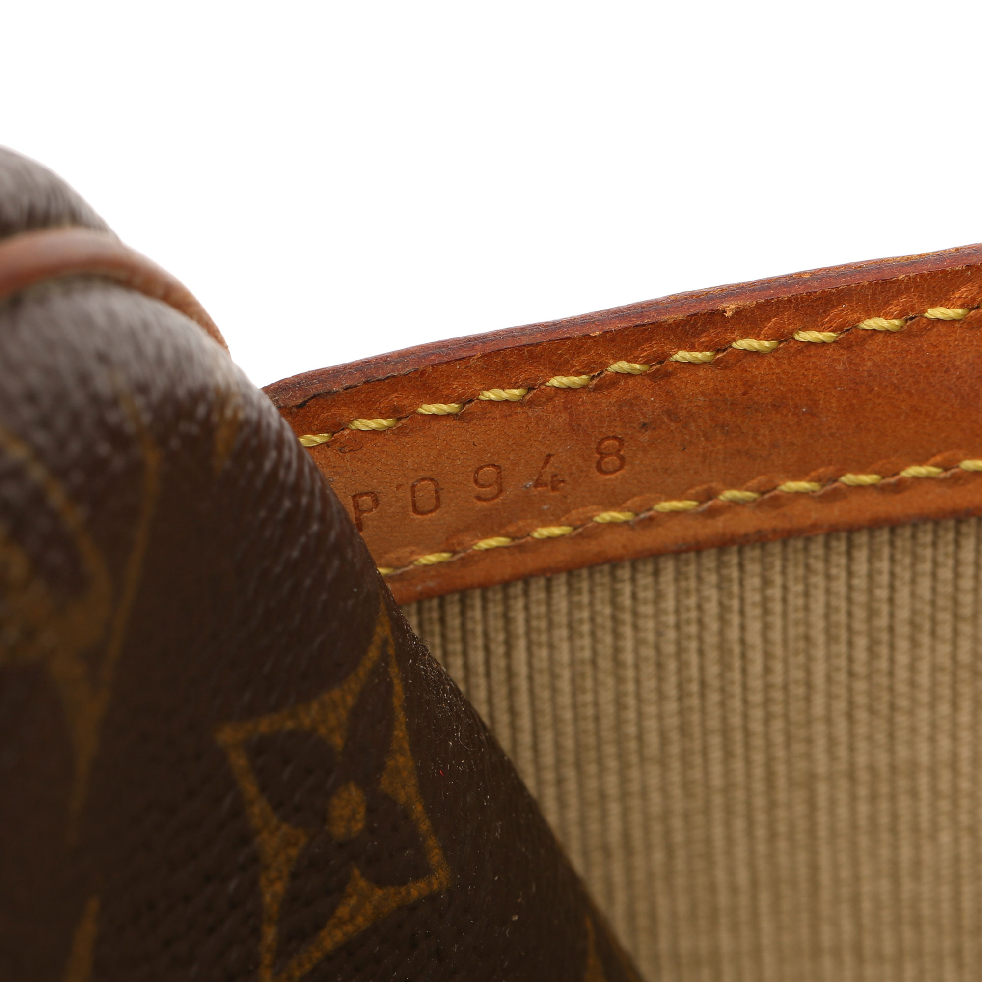 Louis Vuitton Brown Monogram Coated Canvas Vintage Reporter PM - Image 4 of 11