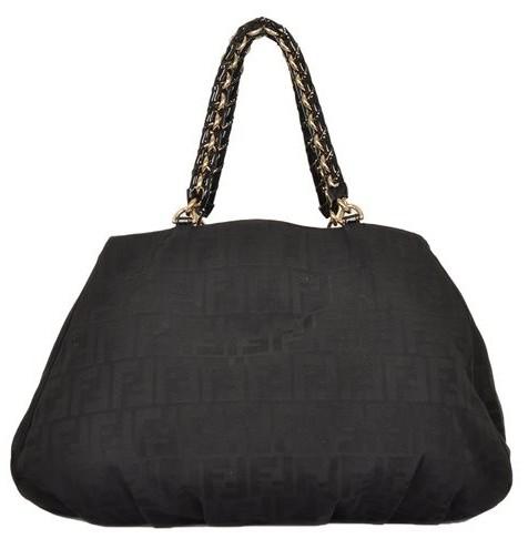 Fendi - Canvas Shoulder Bag - Image 6 of 6