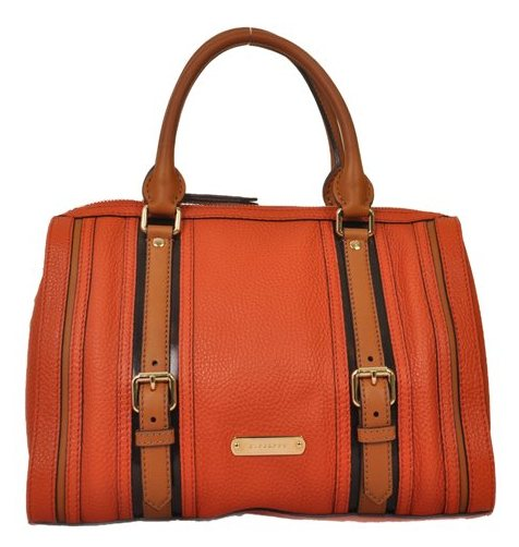 Burberry - Alchester Bowling Medium Leather Hand Bag - Image 2 of 6