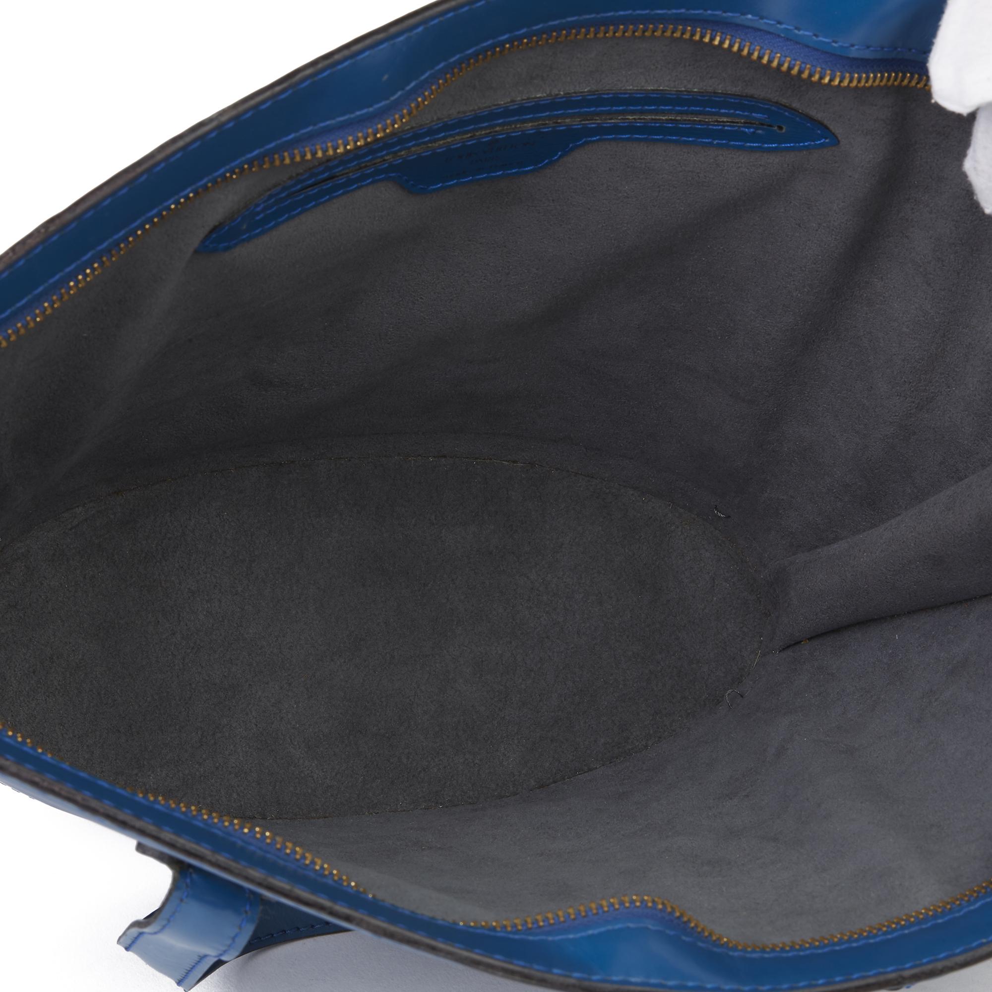 Louis Vuitton Blue Epi Leather Vintage Saint Jacques PM - Image 3 of 11