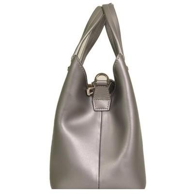 Longchamp - Shiny Leather Shoulder Bag - Image 3 of 5