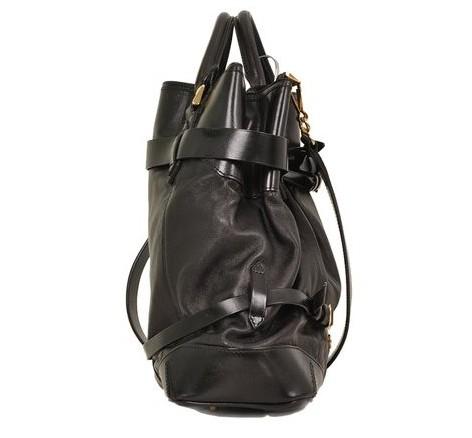 Burberry - Leather Shoulder Bag - Image 4 of 6