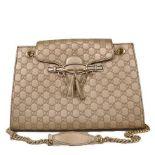 Gucci - Guccisima Emily Large Leather Shoulder Bag