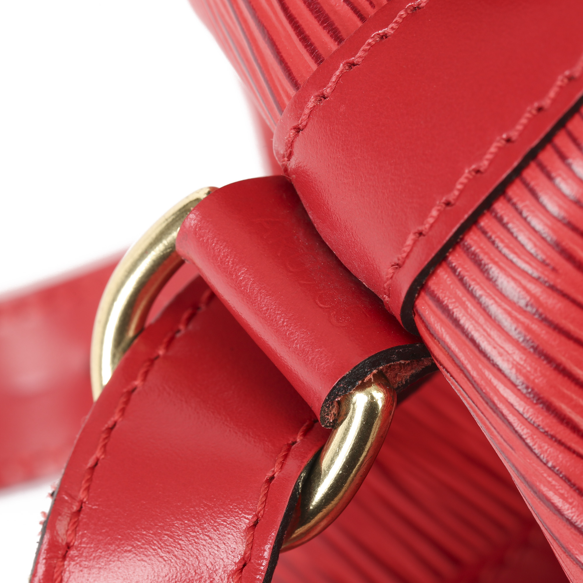 Louis Vuitton Red Epi Leather Vintage Petit NoŽ - Image 4 of 11
