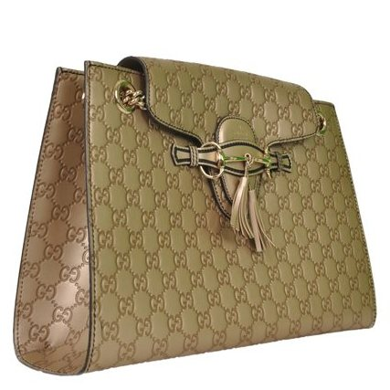Gucci - Guccisima Emily Large Leather Shoulder Bag - Image 5 of 7