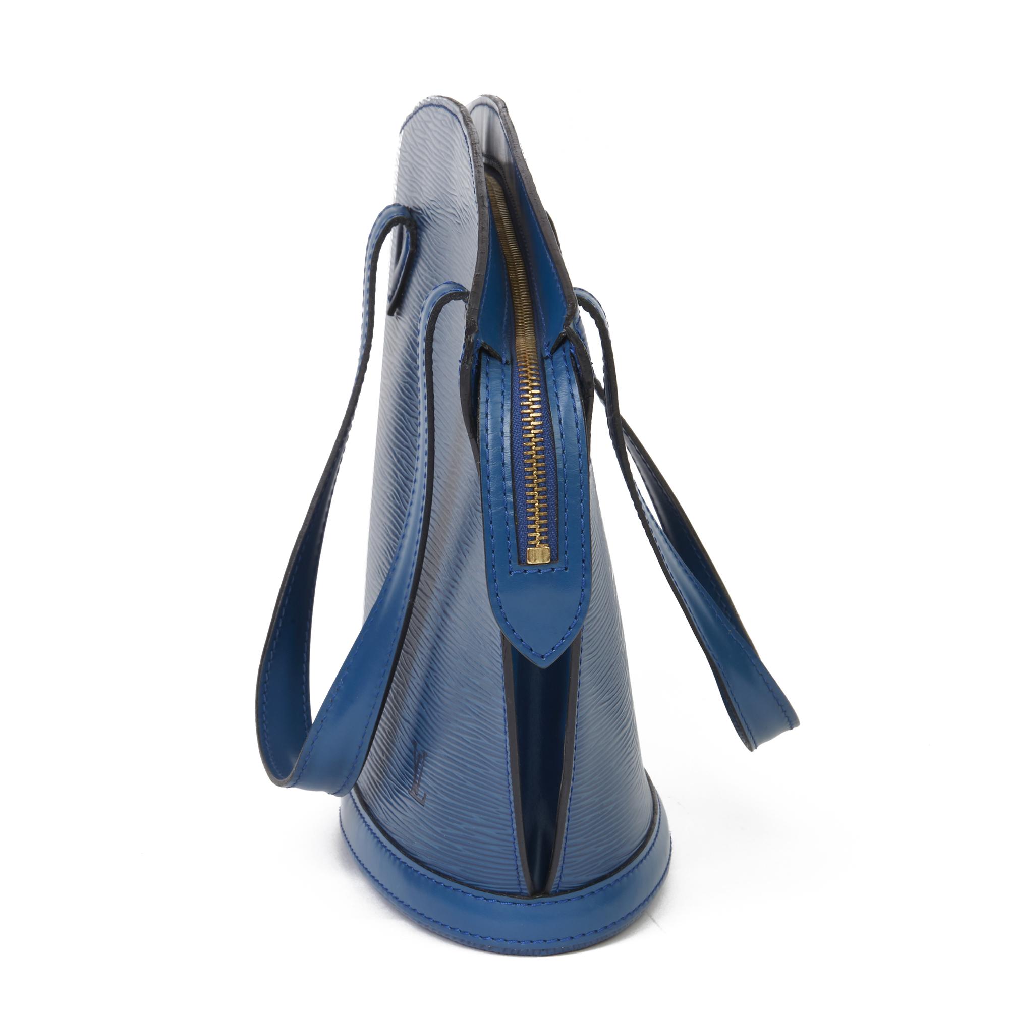 Louis Vuitton Blue Epi Leather Vintage Saint Jacques PM - Image 11 of 11