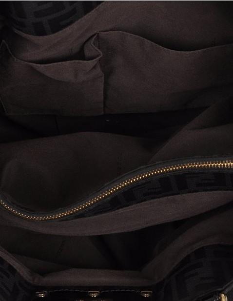 Fendi - Canvas Shoulder Bag - Image 2 of 6