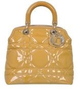 Christian Dior - Granville Small Patent Leather Hand Bag