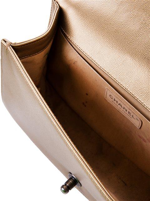 Chanel - Boy Sleek Lines Medium leather shoulder bag - Image 5 of 12