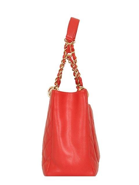 Chanel - Leather Grand Shopper Shoulder Bag - Image 2 of 8
