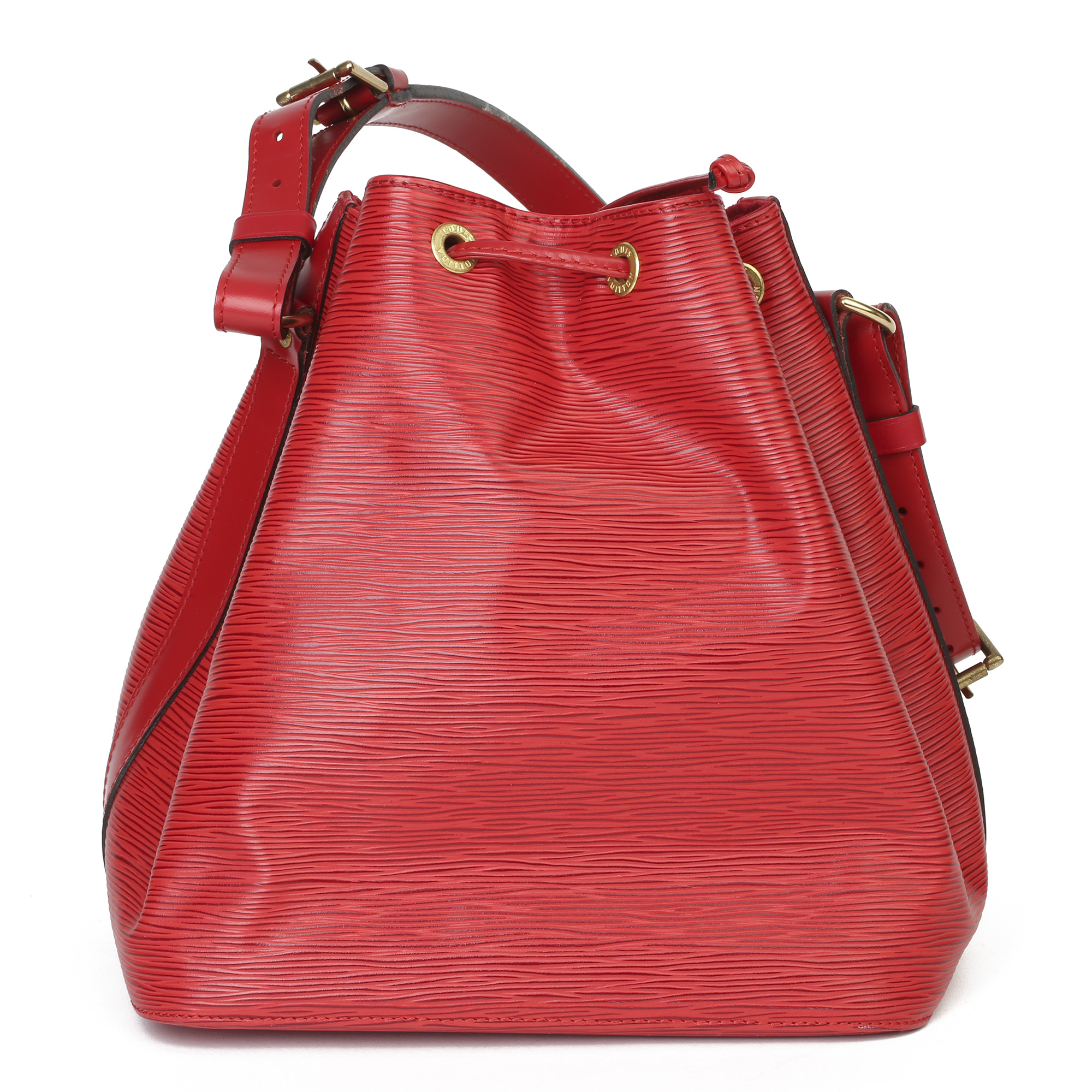 Louis Vuitton Red Epi Leather Vintage Petit NoŽ - Image 9 of 11