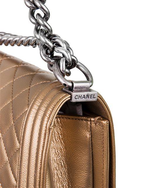 Chanel - Boy Sleek Lines Medium leather shoulder bag - Image 2 of 12