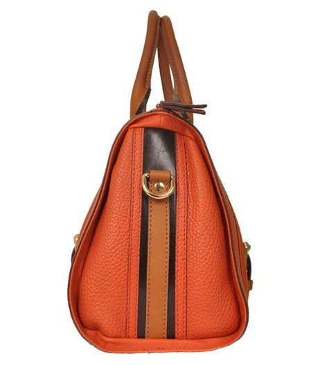 Burberry - Alchester Bowling Medium Leather Hand Bag - Image 4 of 6