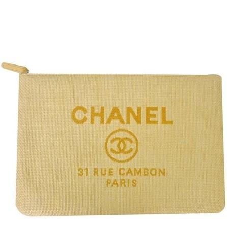 Chanel - Deauville Kanvas Clutch