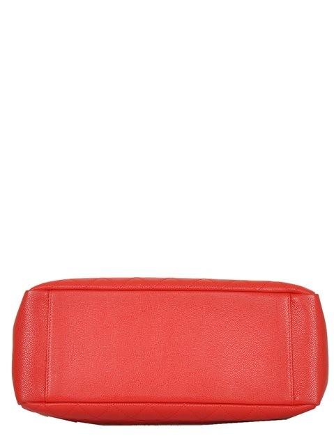 Chanel - Leather Grand Shopper Shoulder Bag - Image 8 of 8