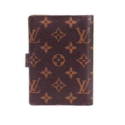 Louis Vuitton - Monogram Canvas Medium Ring leather Organizer Pouch