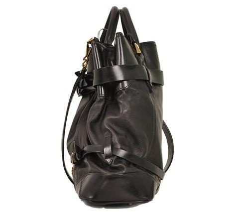 Burberry - Leather Shoulder Bag - Image 5 of 6