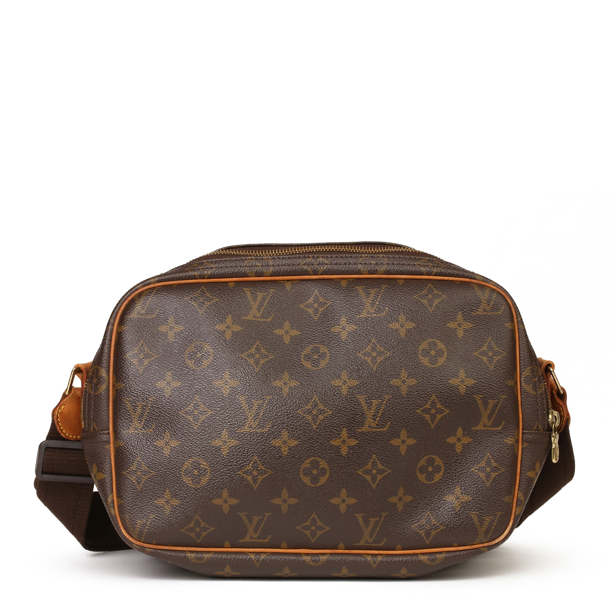 Louis Vuitton Brown Monogram Coated Canvas Vintage Reporter PM - Image 9 of 11