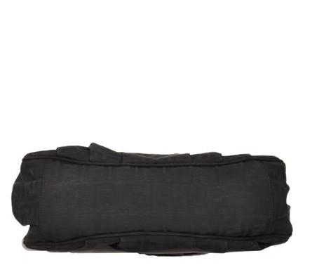 Fendi - Canvas Shoulder Bag - Image 3 of 6